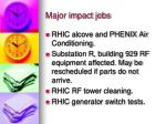 major impact jobs