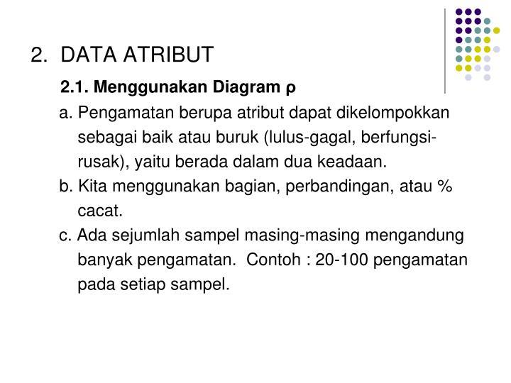 2.  DATA ATRIBUT