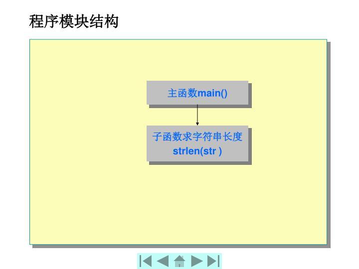程序模块结构