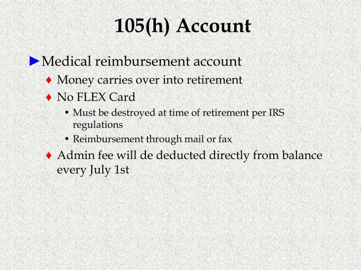 105(h) Account