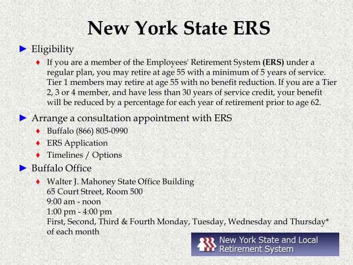 New York State ERS