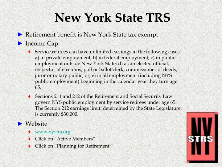 New York State TRS