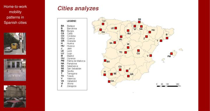 Cities analyzes