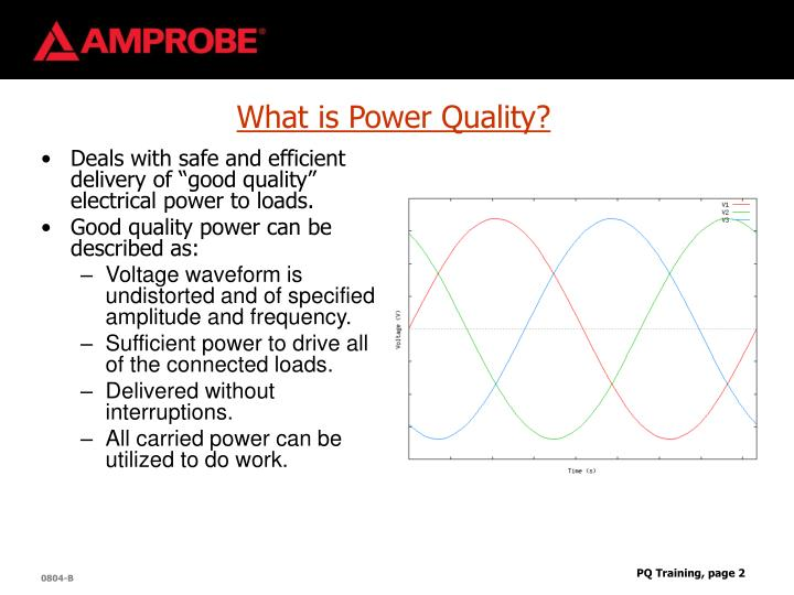 What is Power Quality?