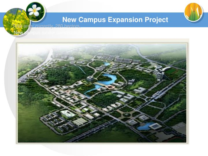 New campus expansion project