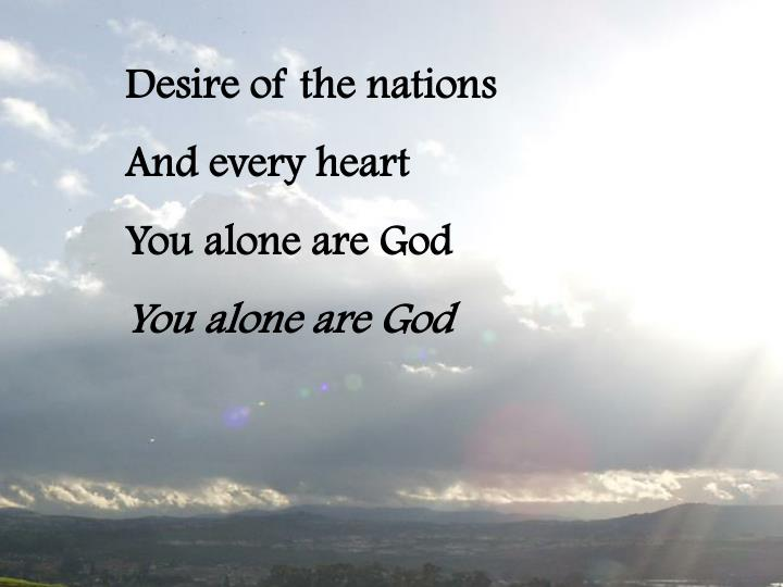Desire of the nations