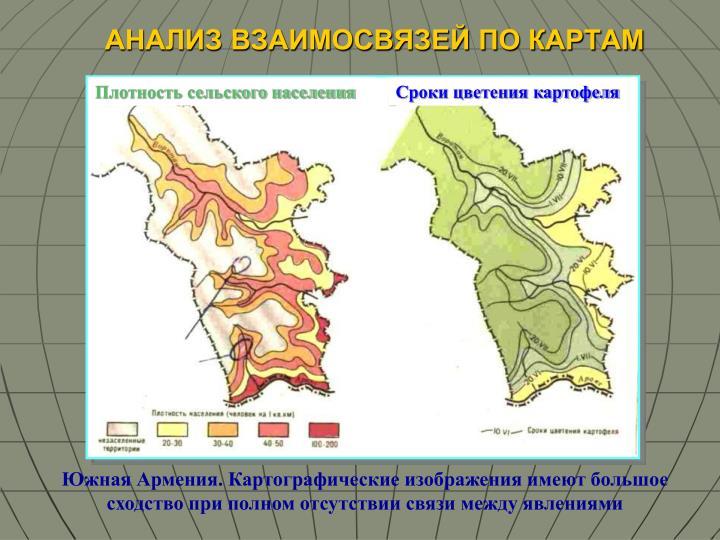 Плотность сельского населения