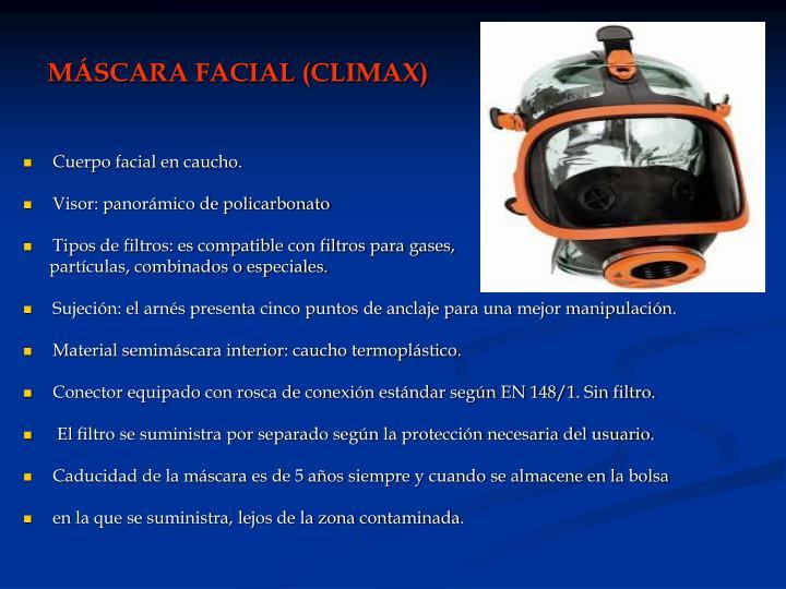 MÁSCARA FACIAL (CLIMAX)
