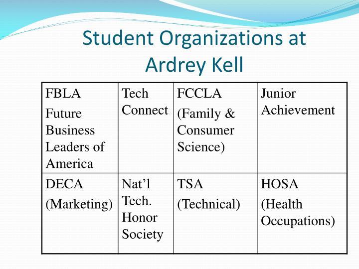 Student Organizations at