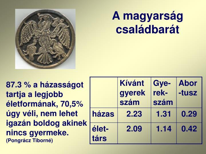 A magyarság családbarát