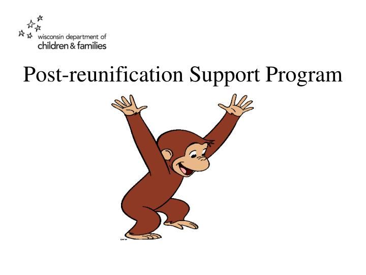 Post-reunification Support Program
