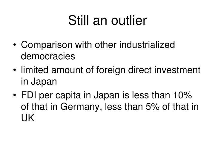 Still an outlier