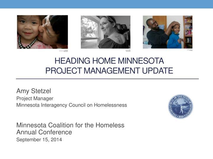 Heading Home Minnesota