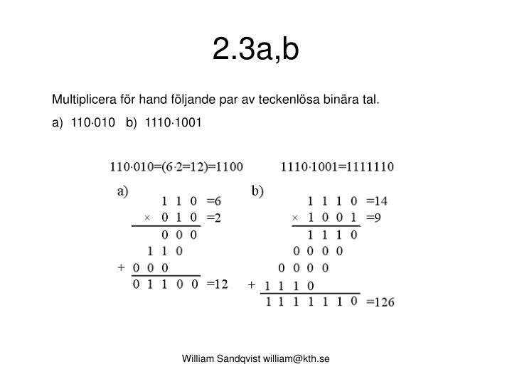 2.3a,b