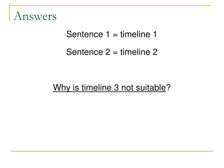 Answers