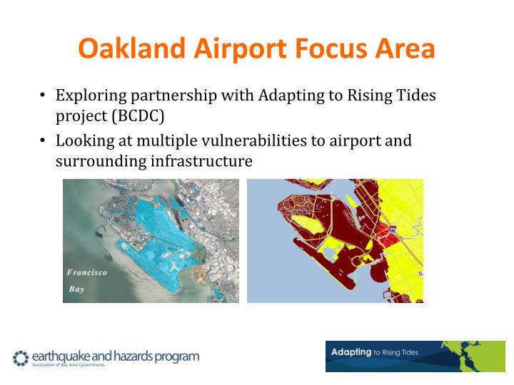 Oakland Airport Focus Area