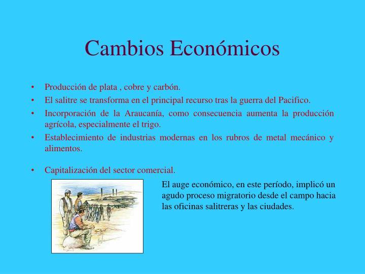 Cambios Económicos