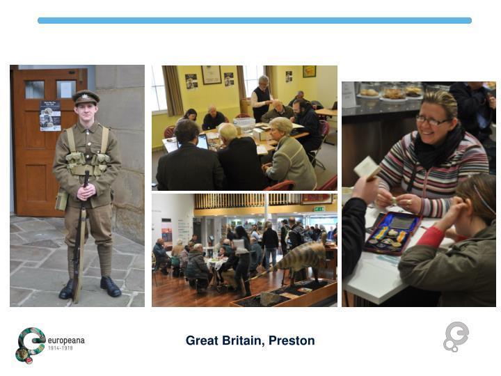 Great Britain, Preston