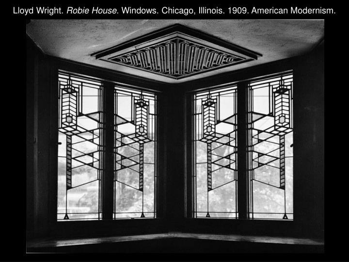 Lloyd Wright.