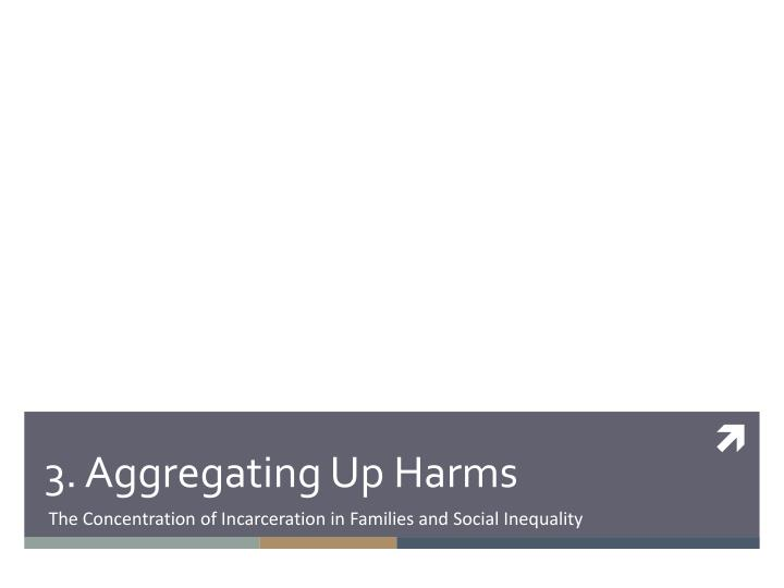 3. Aggregating Up Harms