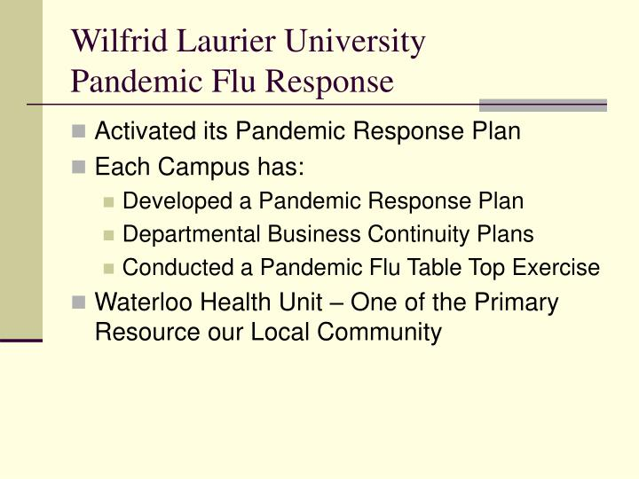 pandemic preparedness plan template - ppt pandemic influenza awareness h1n1 2009 powerpoint
