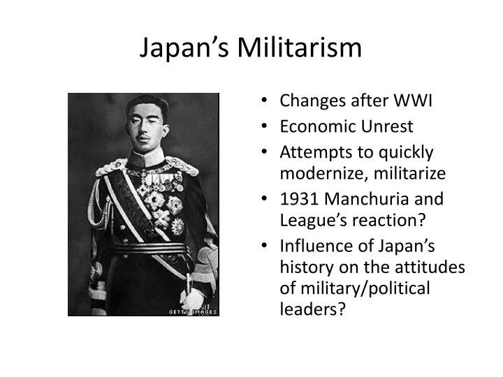 Japan's Militarism