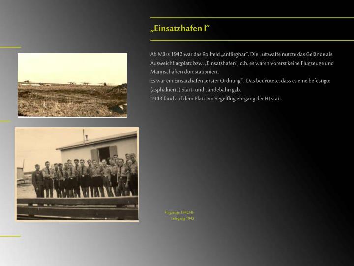 """""""Einsatzhafen I"""""""