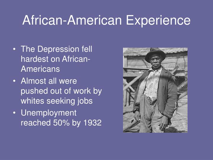 African-American Experience