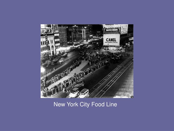 New York City Food Line
