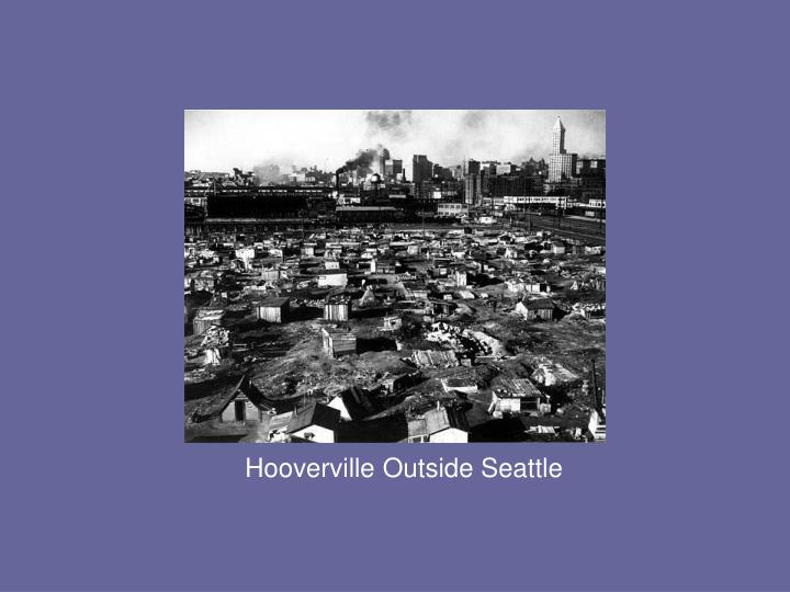 Hooverville Outside Seattle