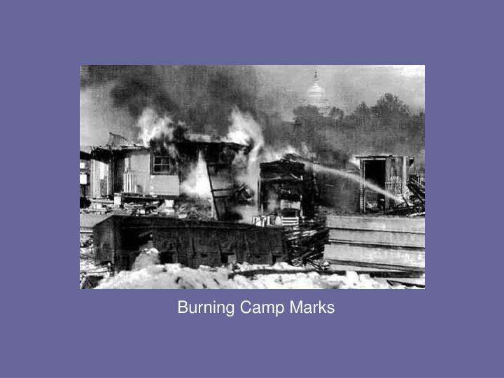 Burning Camp Marks