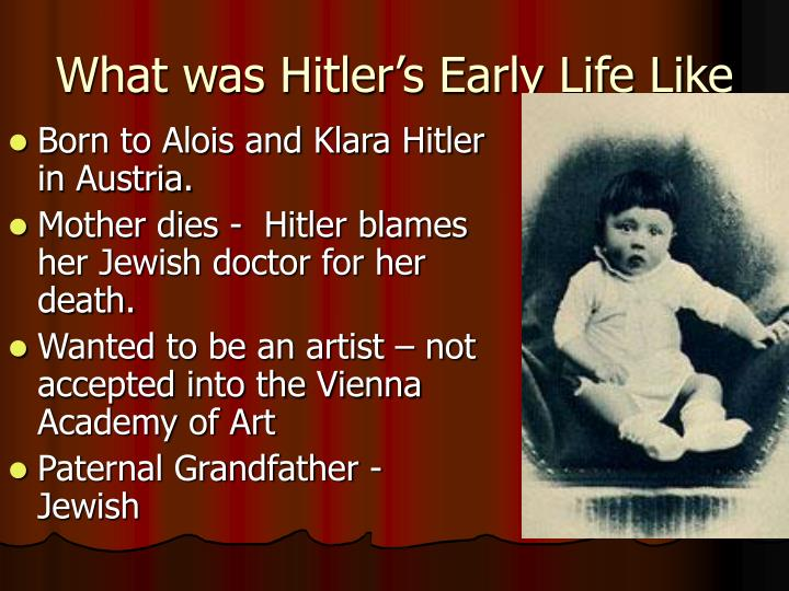 What was hitler s early life like