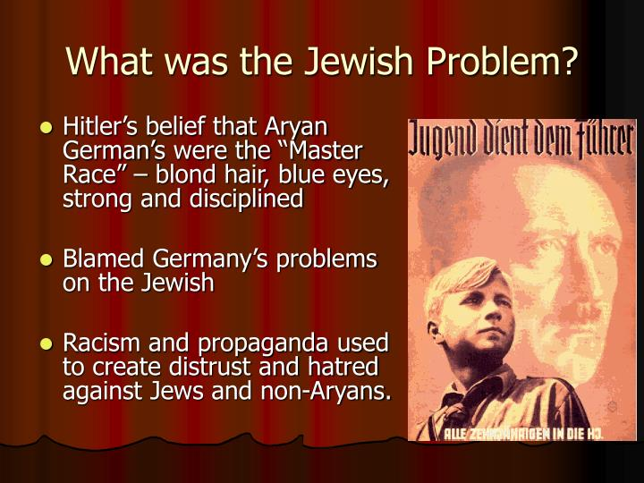 What was the Jewish Problem?