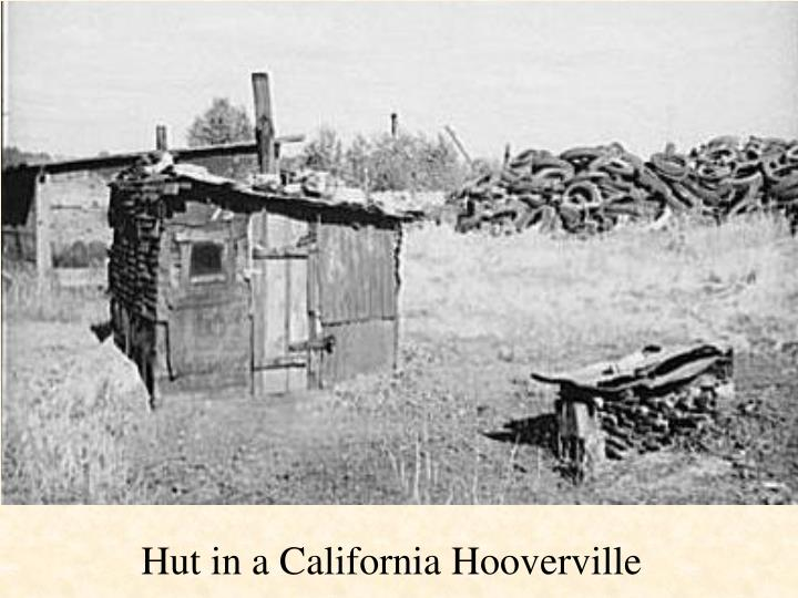 Hut in a California Hooverville