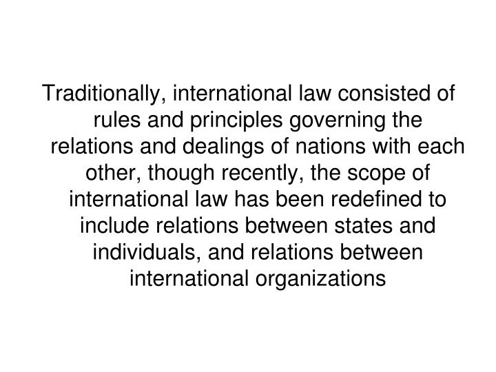 nature and scope of international relations pdf