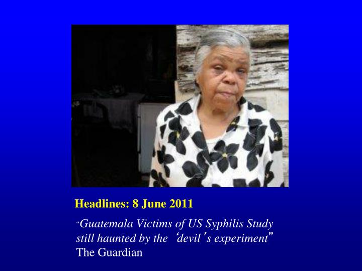 Headlines: 8 June 2011