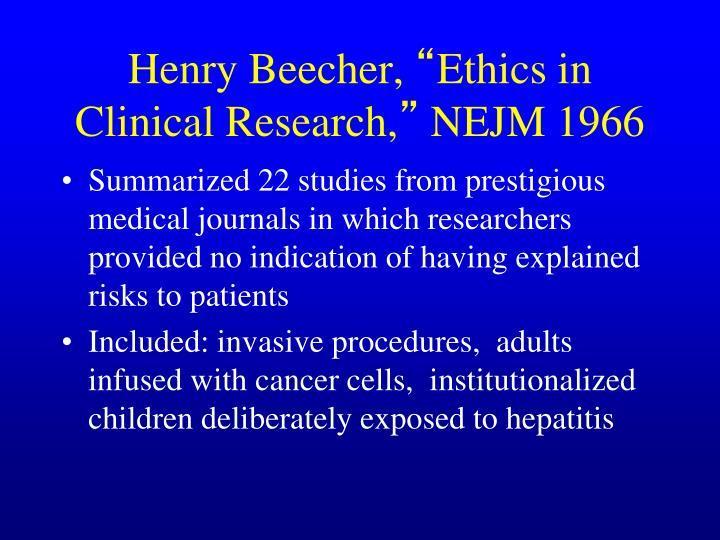 Henry Beecher,