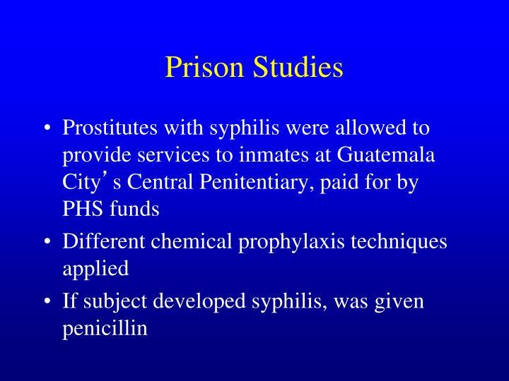 Prison Studies