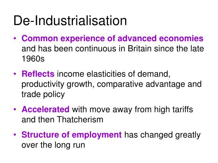 De-Industrialisation