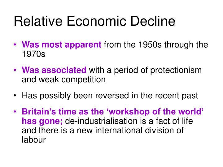 Relative Economic Decline