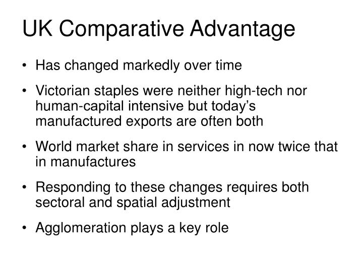 UK Comparative Advantage
