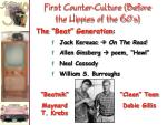 first counter culture before the hippies of the 60 s