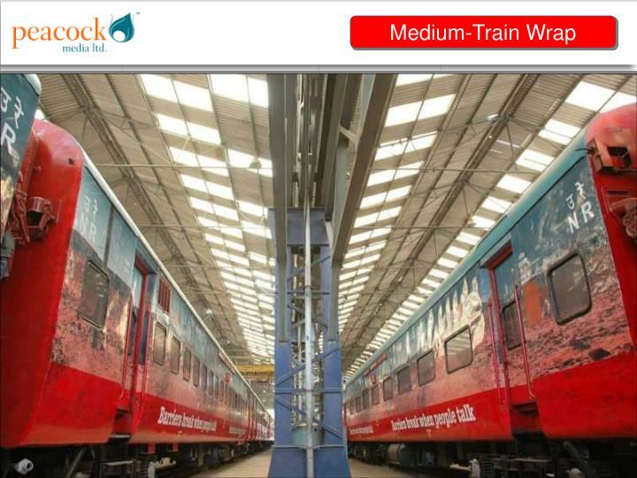 Medium-Train Wrap