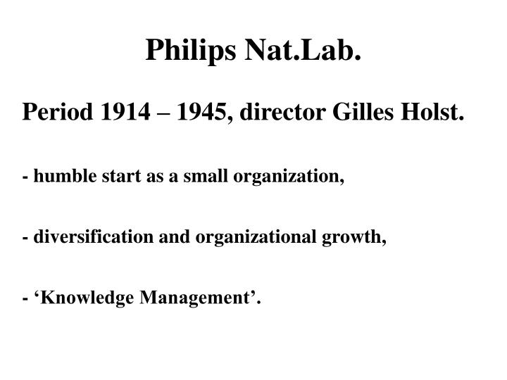 Philips Nat.Lab.