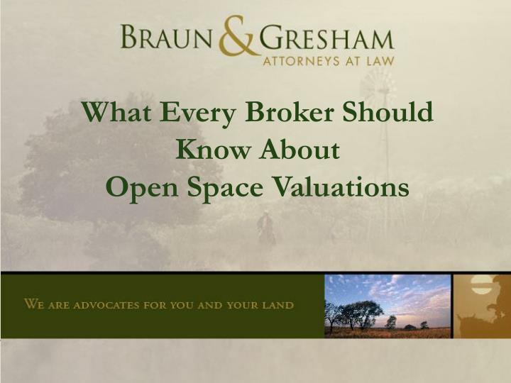 What Every Broker Should Know About