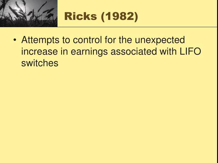Ricks (1982)