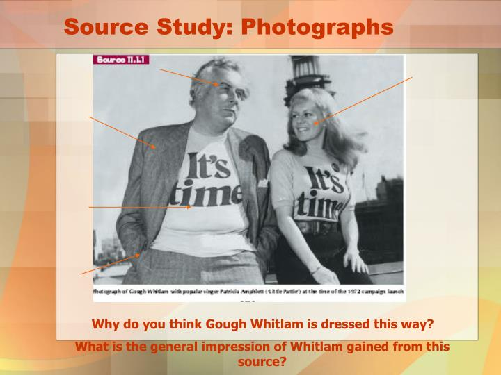 Source Study: Photographs