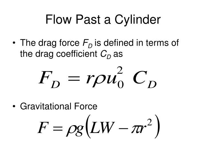 Flow Past a Cylinder