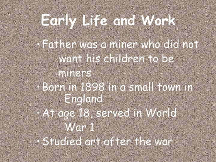 Early life and work