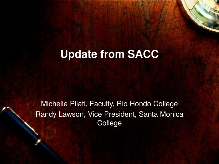 Update from sacc